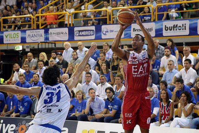 Goudelock Andrew Germani Basket Brescia - EA7 Emporio Armani Milano - Lega Basket Serie A 2017/2018 Playoff Semifinali gara 3 Montichiari, 28/05/2018 Foto Ciamillo-Castoria