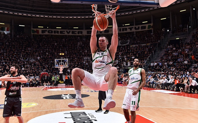 Fesenko Kyrylo Virtus Segafredo Bologna - Sidigas Avellino Lega Basket Serie A 2017/2018 Bologna, 06/05/2018 Foto Ciamillo-Castoria/GiulioCiamillo