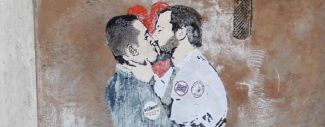 bacio di maio salvini c