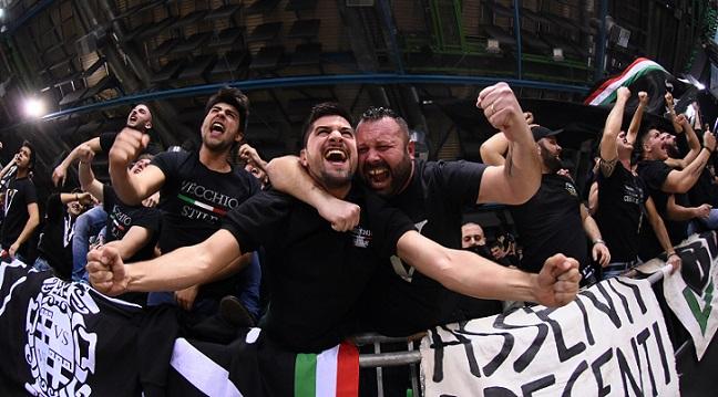 Segafredo Virtus Bologna A X ARMANI EXCHANGE MILANO - SEGAFREDO VIRTUS BOLOGNA LBA Serie A Final 8 Eight Postemobile 2018/2019 Firenze 14/02/2019 M.Ciaramicoli Ciamillo Castoria